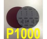 Круг шлифовальный на поролоне SIA VELVET(d-150мм, без отвер.) Р1000