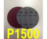 Круг шлифовальный на поролоне SIA VELVET(d-150мм, без отвер.) Р1500