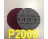 Круг шлифовальный на поролоне SIA VELVET(d-150мм, без отвер.) Р2000