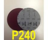 Круг шлифовальный на поролоне SIA VELVET(d-150мм, без отвер.) Р240