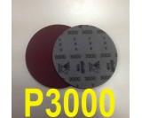 Круг шлифовальный на поролоне SIA VELVET(d-150мм, без отвер.) Р3000