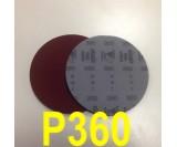 Круг шлифовальный на поролоне SIA VELVET(d-150мм, без отвер.) Р360