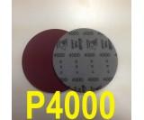 Круг шлифовальный на поролоне SIA VELVET(d-150мм, без отвер.) Р4000