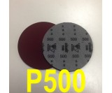 Круг шлифовальный на поролоне SIA VELVET(d-150мм, без отвер.) Р500