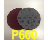 Круг шлифовальный на поролоне SIA VELVET(d-150мм, без отвер.) Р600