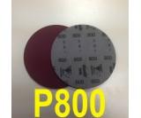 Круг шлифовальный на поролоне SIA VELVET(d-150мм, без отвер.) Р800