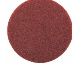 Скотч-брайт, нетканый матирующий круг SMIRDEX AVF 320 (красный), d-150мм