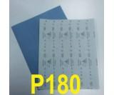 Наждачная бумага сухая SIA (230*280 мм) Р180