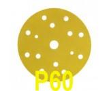 Круг шлифовальный 3М Hookit (d-150мм,15 отверстий) Р60