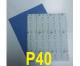 Наждачная бумага сухая SIA (230*280 мм) Р40