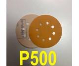 Абразивный круг SMIRDEX Р500 PowerLine 820 (d-125мм, 8 отверстий)
