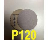 Абразивный круг SMIRDEX Р120 White 510 (d-125мм, без отверстий)