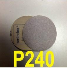 Абразивный круг SMIRDEX Р240 White 510 (d-125мм, без отверстий)