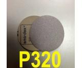 Абразивный круг SMIRDEX Р320 White 510 (d-125мм, без отверстий)