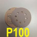 Абразивный круг SMIRDEX Р100 White 510 (d-125мм, 8 отверстий)