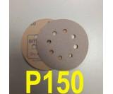 Абразивный круг SMIRDEX Р150 White 510 (d-125мм, 8 отверстий)
