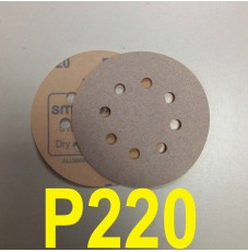 Абразивный круг SMIRDEX Р220 White 510 (d-125мм, 8 отверстий)