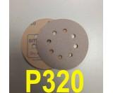 Абразивный круг SMIRDEX Р320 White 510 (d-125мм, 8 отверстий)