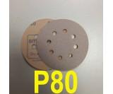 Абразивный круг SMIRDEX Р80 White 510 (d-125мм, 8 отверстий)