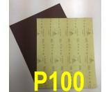 Наждачная бумага водостойкая SIA (230*280 мм) Р100