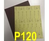 Наждачная бумага водостойкая SIA (230*280 мм) Р120