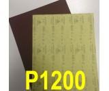Наждачная бумага водостойкая SIA (230*280 мм) Р1200