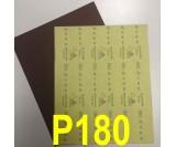 Наждачная бумага водостойкая SIA (230*280 мм) Р180