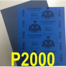 Наждачная водостойкая бумага Matador APP (230*280) P2000