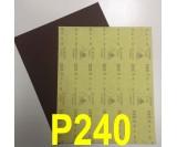 Наждачная бумага водостойкая SIA (230*280 мм) Р240