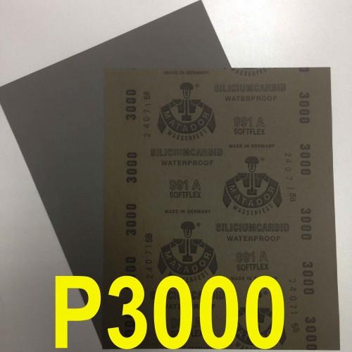 Абразивная бумага водостойкая 3000