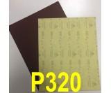 Наждачная бумага водостойкая SIA (230*280 мм) Р320