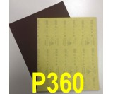 Наждачная бумага водостойкая SIA (230*280 мм) Р360