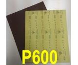 Наждачная бумага водостойкая SIA (230*280 мм) Р600