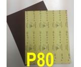 Наждачная бумага водостойкая SIA (230*280 мм) Р080