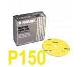 Круг шлифовальный Kovax Max film (d-152 мм,15 отверстий) Р150