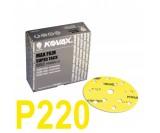 Круг шлифовальный Kovax Max film (d-152 мм,15 отверстий) Р220