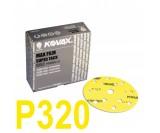 Круг шлифовальный Kovax Max film (d-152 мм,15 отверстий) Р320