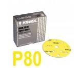 Круг шлифовальный Kovax Max film (d-152 мм,15 отверстий) Р80