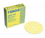 Микроабразивные круги Yellow Film на липучке 152 мм, 15 отверстий