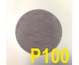 Круг шлифовальный MIRKA ABRANET ( сетка на липучке, d-150мм) Р100