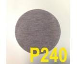 Круг шлифовальный MIRKA ABRANET ( сетка на липучке, d-150мм) Р240