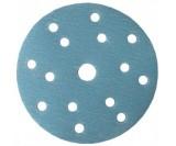 Абразивный круг IFILM Blue ISISTEM, D=150мм, 15 отверстий