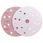 Абразивный круг IFILM Red ISISTEM, D=150мм, 15 отверстий