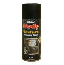 Аэрозольная краска Body структурная для бампера, чёрный, 400мл
