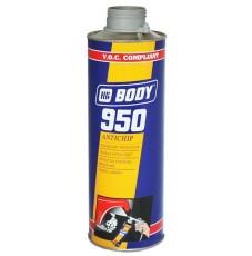 Антигравий Body 950 серый (1л)