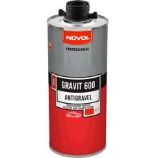 Антигравий Novol MS GRAVIT 600 черный (1л)