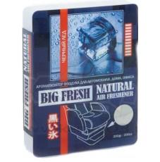 Ароматизатор воздуха BIG FRESH черный лед (200гр)
