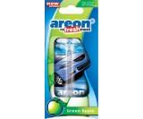 Ароматизатор подвесной AREON Refreshment  -зеленое яблоко