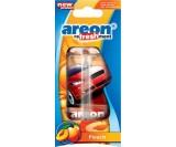 Ароматизатор подвесной AREON Refreshment - персик
