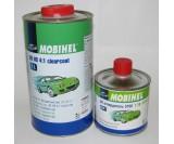 Бесцветный лак 2К HS 4+1 акрил Mobihel + отверд. 5100, уп 1л+0,25л